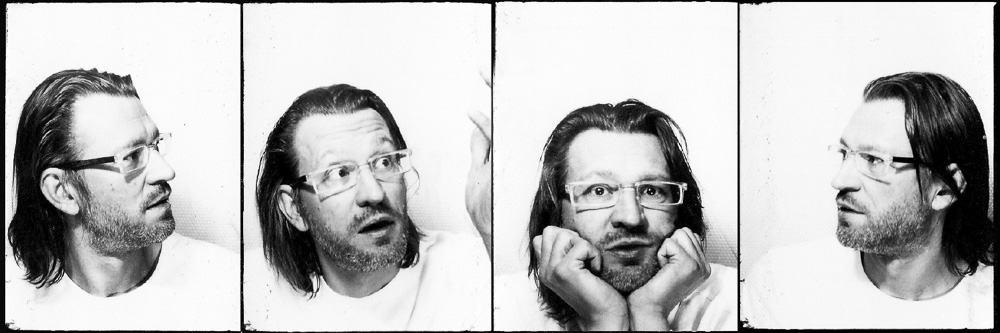"""Pressefotos zu Marcus Jerochs neuem Programm """"Schöner Denken mit WoWo"""""""